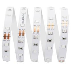 Лента светодиодная 12В, 14,4 Вт/м, smd 5050, 60 д/м, IP65, 700 Лм/м, теплый белый